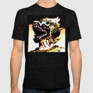 Pixel Of Thailand Mens Fitted Tee Tri-Black SMALL
