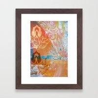 AnJali Mudra Framed Art Print