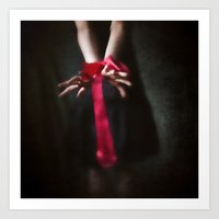 Red Are The Ties That Bind Art Print