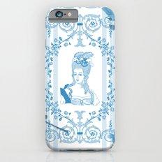 Marie-Antoinette Monogram (Aqua) Slim Case iPhone 6s