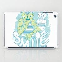 Smile It's contagious :D iPad Case