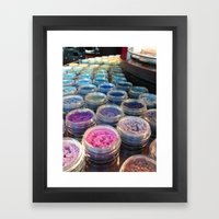 makeup Framed Art Print