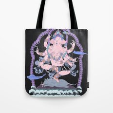 Long Lines Block the Path to Enlightenment Tote Bag