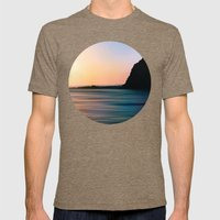 The Edge Mens Fitted Tee Tri-Coffee SMALL