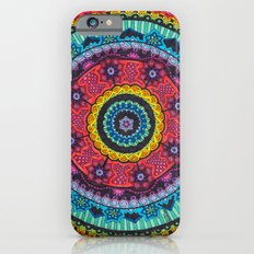 Rainbow Mandala Slim Case iPhone 6s