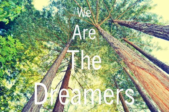 We are the dreamers Art Print