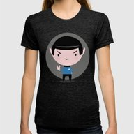 LLAP Womens Fitted Tee Tri-Black SMALL