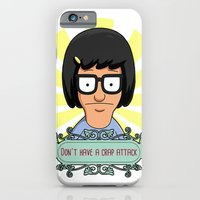 iPhone Cases featuring Crap Attack by Alexia Rose