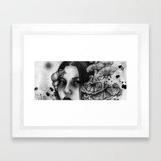 Mycelia Framed Art Print