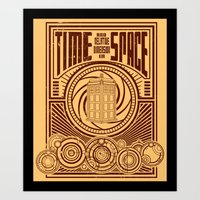 Time and Space Art Print