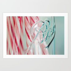 candy jar Art Print