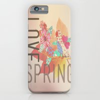 iPhone & iPod Case featuring LOVE SPRING by Claudia C