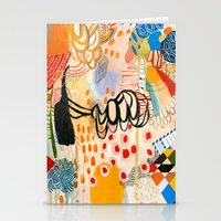 Wallpaper and Diamonds Part II Stationery Cards