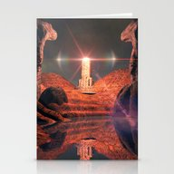 Mystical Fantasy World Stationery Cards
