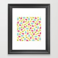Sweet Tweets Framed Art Print