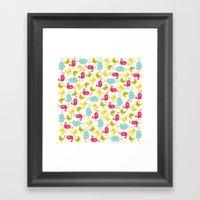 Sweet Tweets Framed Art Print