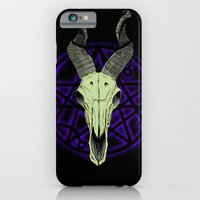 iPhone & iPod Case featuring Black Goat of the Woods by Joe Fern
