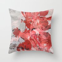 Untitled 20160113z (Arrangement) Throw Pillow