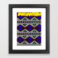 IMAGINATION Framed Art Print