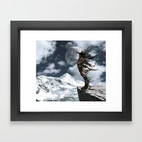 The Shedding Of Darkness Framed Art Print
