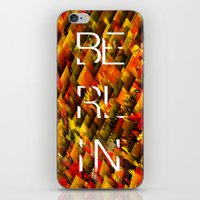 CAMO BERLIN iPhone & iPod Skin