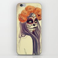 Catrina iPhone & iPod Skin