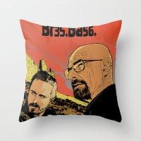 Breaking Bad (Br35Ba56) Throw Pillow