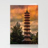 Kew Pagoda Stationery Cards