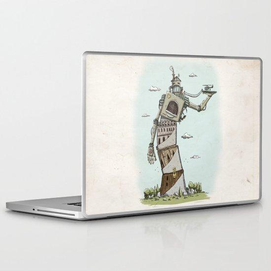 Crooked Laptop & iPad Skin