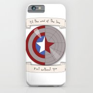Steve Rogers And Bucky B… iPhone 6 Slim Case