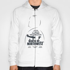 North by Northwest - Hitchcock Movie Poster Hoody