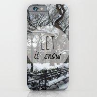 Let It Snow! iPhone 6 Slim Case