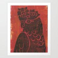 Galah Art Print