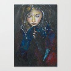 Little Match Girl Canvas Print