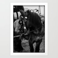 Dutch Drafter Black & Wh… Art Print