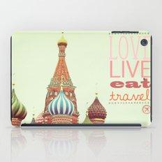 Love, Live, Eat, Travel iPad Case