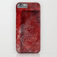 red watercolor iPhone 6 Slim Case