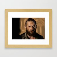 Jean Valjean Framed Art Print