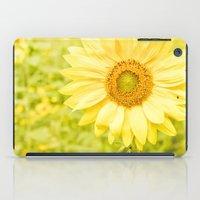 Smiling Sunflower iPad Case