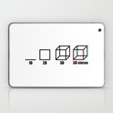 3D stereo Laptop & iPad Skin