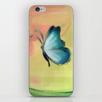 The Journey Of A Butterf… iPhone & iPod Skin