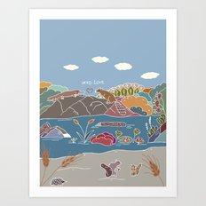 NERD Love Art Print