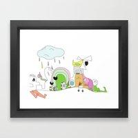 Funland 1 Framed Art Print