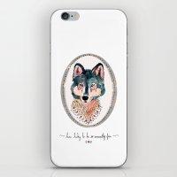 How Lucky To Be So Unusu… iPhone & iPod Skin