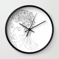 La Citta' Dentro Wall Clock