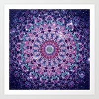 ARABESQUE UNIVERSE Art Print