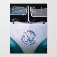Volkswagen Split Screen Camper Canvas Print