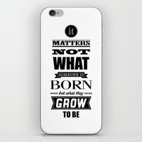 HP Quotes - Goblet of Fire iPhone & iPod Skin