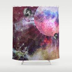 Lunar Strain Shower Curtain