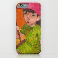 iPhone & iPod Case featuring The Girl Who Wanted To Be God by Anna Gogoleva